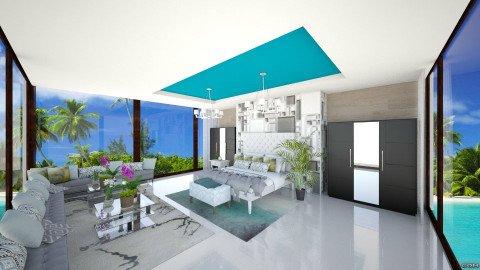 Modern bedroom on water - Modern - Bedroom - by bgref