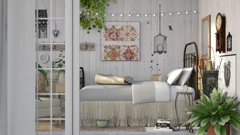 Shabby Boho - Bedroom - by Mum Dali