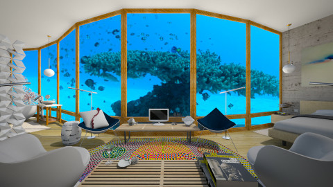 Tanaka Juuyoh _Coral Tree - Modern - Bedroom - by russ