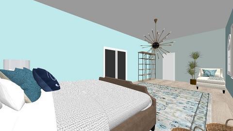 Master Suite - Bedroom - by Maddie Fuller