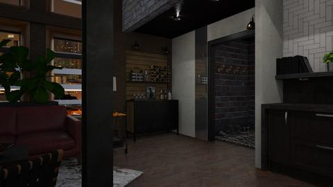 Loft 04 - Eclectic - Living room - by evahassing