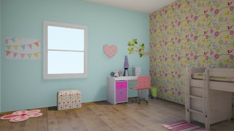 girly - Kids room - by mgirl