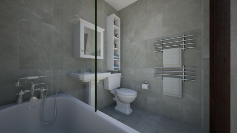 For shanlisowe II - Eclectic - Bathroom - by Theadora