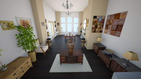 Vintage 3 - Vintage - Living room - by Remmi