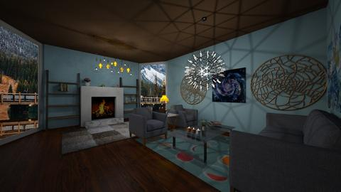 Modern Cute Living Room - Living room - by Chickie4012