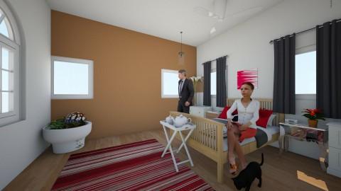 the parents room - Bedroom - by Kaylee Mahr