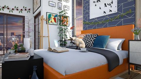 O L I V E R - Bedroom - by _firecrackers