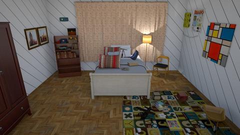 FINAL past - Retro - Bedroom - by zoidar