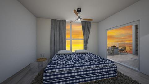 summer evening - Bedroom - by oriane dfn