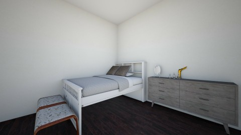 master bedroom - Modern - Bedroom - by emoni smith