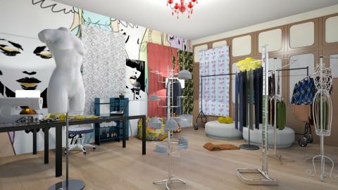 the fashion room - by Pandachankuka