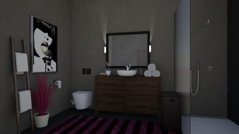 dark  - Bathroom - by tj94