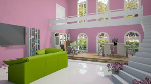 Primavera - Living room - by mariareyna
