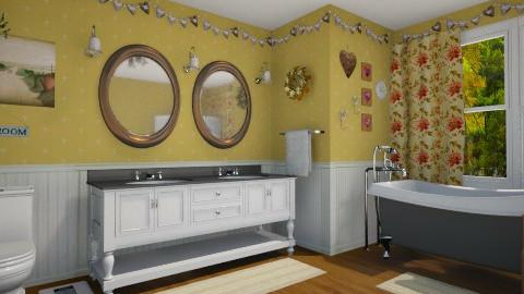 Country Bathroom - Country - Bathroom - by LadyVegas08