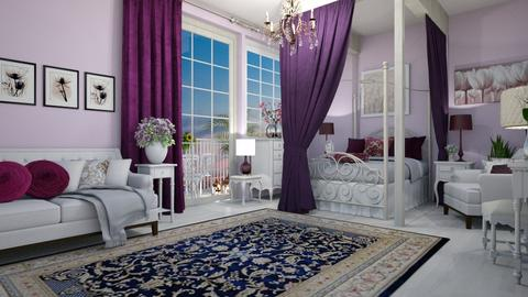 shabby chic bedroom - Bedroom - by mari mar