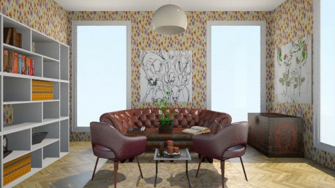 living - Feminine - Living room - by LAS95