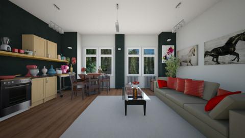 daiane - Living room - by Daiane Tavares