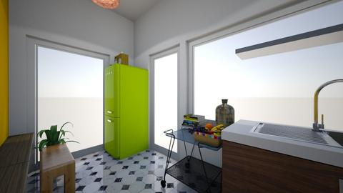 Plan B keuken kant terras - Kitchen - by pixie_16