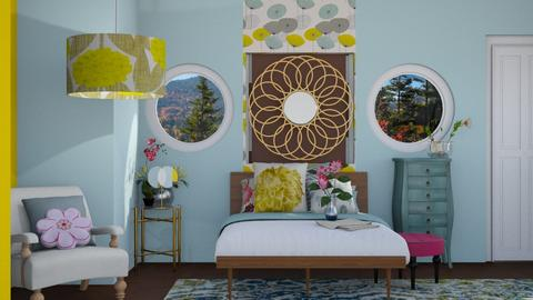Wildly Flowered - Modern - Bedroom - by Jessica Fox