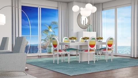 At the Beach Dining Room - Dining room - by GraceKathryn