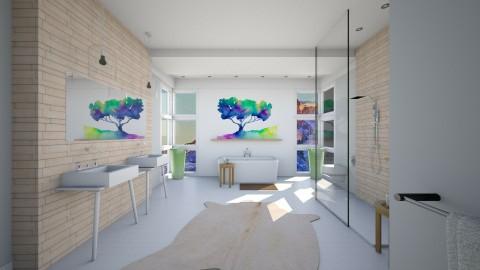 Luxury Bath - Modern - Bathroom - by Musicman