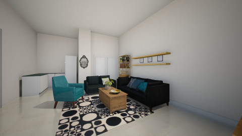 Mika_living Room - Minimal - Living room - by Anat_Marcovich