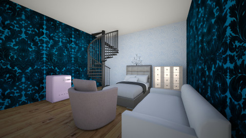 Guest Room - Bedroom - by Aleia Wade