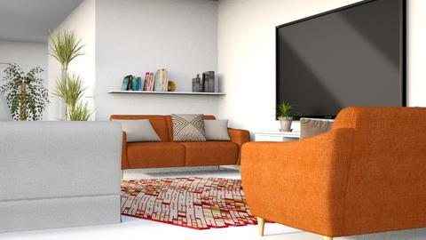 Flat for simiia - Modern - Living room - by millerfam