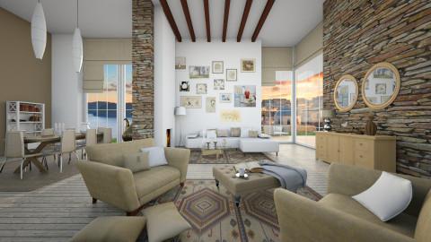home art - Retro - Living room - by Senia N