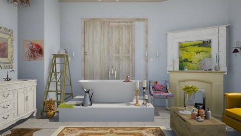 chic bathroom - Vintage - Bathroom - by hopehyde50