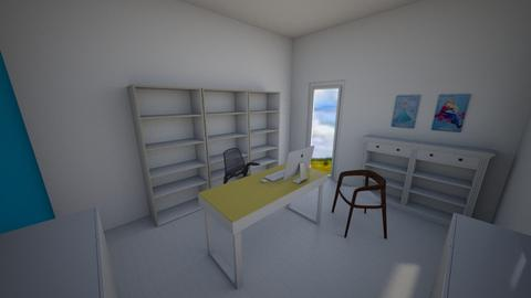 Nan Office 14x12 brown - by nancysmenard