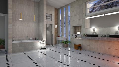 MCM Bathroom - Modern - Bathroom - by Sue Bonstra