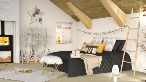 Christmas Bedroom - by ariema