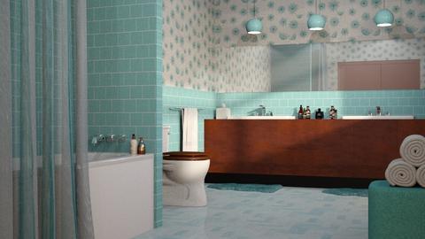 MCM Bathroom - Bathroom - by GraceKathryn