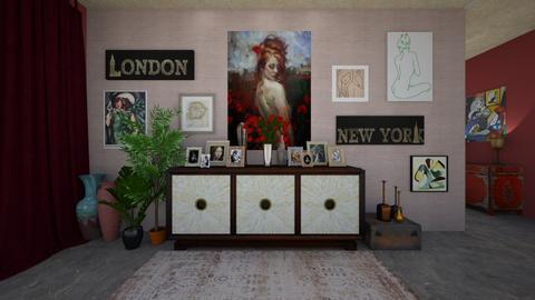 artsy - Living room - by allday08