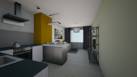 vregina - Living room - by vregina