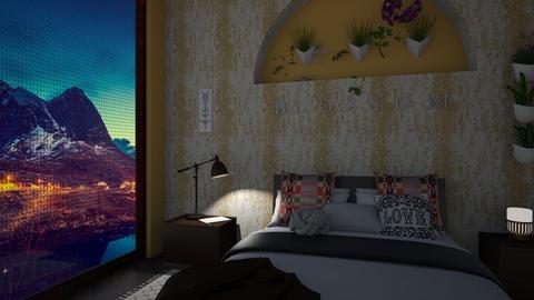 Boho Slumber - Bedroom - by timeandplace