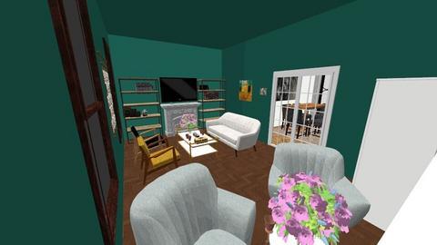 my lil house with garden - by iamjustpsy