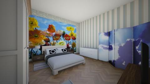 retro - Retro - Bedroom - by basic101
