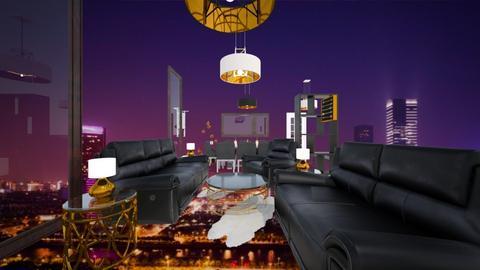 Floating Living Space - Living room - by JaidenLegg