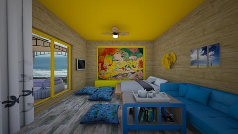 Quarto_1 - Bedroom - by Tupiniquim