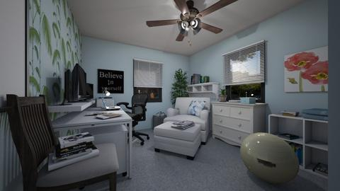 For SherryDN V - Eclectic - Office - by Theadora