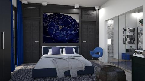 M_ Blue Rose - Modern - Bedroom - by milyca8