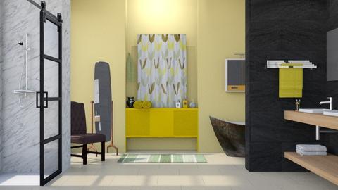 Yellow Bath - Modern - Bathroom - by Gurns