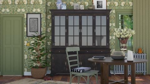 Cottage - Vintage - Dining room - by HenkRetro1960