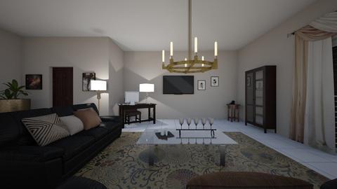 mi - Living room - by Angela Quintieri