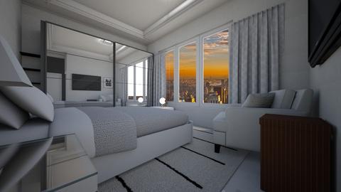 1room - Modern - Bedroom - by raissasevero