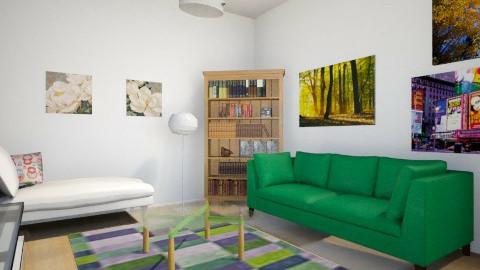 crazy modern - Living room - by Melis Sevim