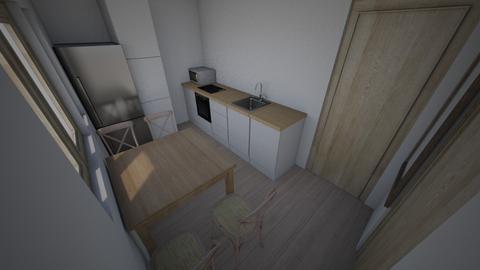 4 - Kitchen - by LittleWaffle