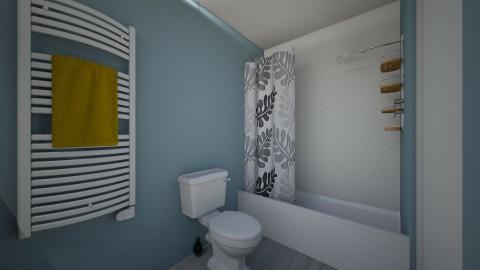 Apartment Bathroom 1b - Bathroom - by fiveburkes